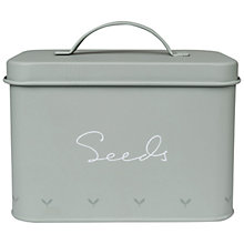 Buy Sophie Allport Green Fingers Tin Seed Box, Green Online at johnlewis.com