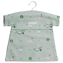 Buy Sophie Allport Gardening Print Peg Bag Online at johnlewis.com
