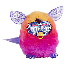 Buy Furby Boom, Crystal Series, Orange/Pink Online at johnlewis.com