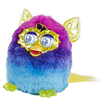 Buy Furby Boom, Crystal Series, Purple/Blue Online at johnlewis.com