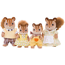 Buy Sylvanian Families Walnut Squirrel Family Online at johnlewis.com