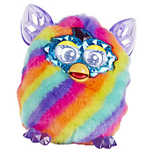 Buy Furby Boom, Crystal Series, Rainbow Online at johnlewis.com