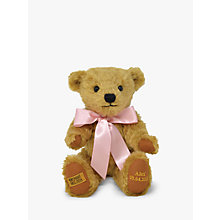 Buy Merrythought Personalised Shrewsbury Teddy Bear with Gold Thread Online at johnlewis.com