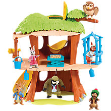 Buy Beatrix Potter Peter Rabbit Secret Treehouse Playset Online at johnlewis.com