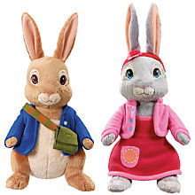 Buy Beatrix Potter Peter Rabbit Plush Talking Soft Toys, Assorted Online at johnlewis.com
