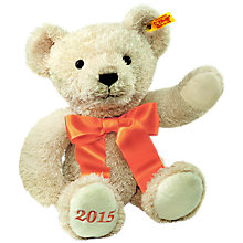 Buy Steiff Cosy Year Bear 2015 Online at johnlewis.com