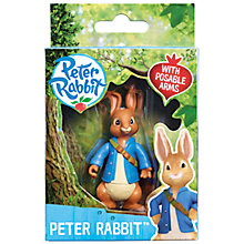 Buy Beatrix Potter Peter Rabbit & Friends Character Figures, Assorted Online at johnlewis.com