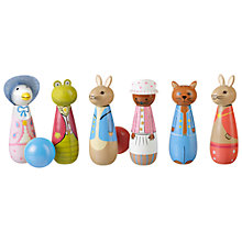 Buy Peter Rabbit & Friends Skittles Game Set Online at johnlewis.com