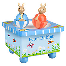 Buy Peter Rabbit Moving Character Music Box Online at johnlewis.com
