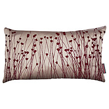 Buy Clarissa Hulse Grasses Cushion, Plum Online at johnlewis.com