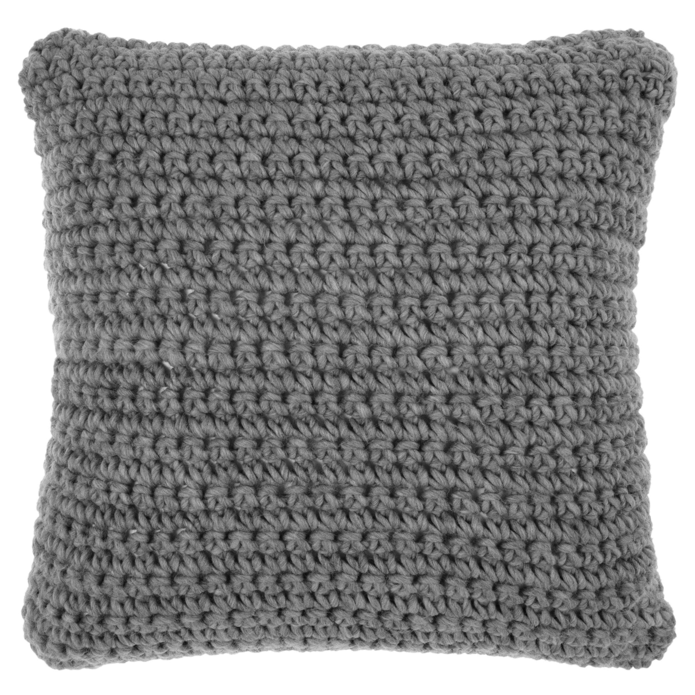 Buy John Lewis Croft Collection Ribbed Knit Cushion John Lewis