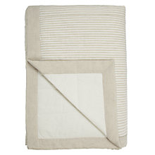 Buy John Lewis Croft Collection Washed Stripe Bedspread Online at johnlewis.com