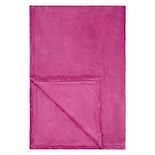 Buy John Lewis Fleece Blanket Online at johnlewis.com