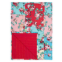 Buy John Lewis Floral Patchwork Bedspread Online at johnlewis.com