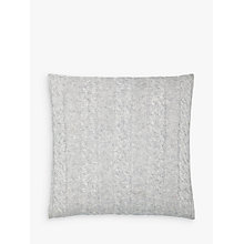 Buy John Lewis Croft Collection Cable Knit Cushion Online at johnlewis.com
