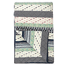 Buy John Lewis Ikat Global Patchwork Bedspread Online at johnlewis.com