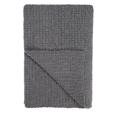 John Lewis Croft Collection Ribbed Knit Throw