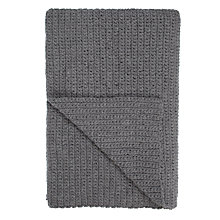 Buy John Lewis Croft Collection Ribbed Knit Throw Online at johnlewis.com