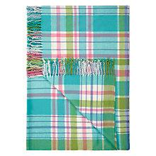 Buy John Lewis Checked Pattern Throw Online at johnlewis.com