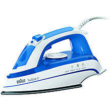 Buy Braun TS355A TexStyle 3 Steam Iron Online at johnlewis.com