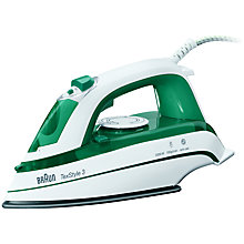 Buy Braun TS345 TexStyle 3 Steam Iron Online at johnlewis.com