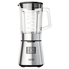 Buy AEG SB7300S TruFlow® Power Blender, Stainless Steel Online at johnlewis.com