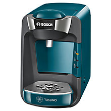 Buy Tassimo Suny Coffee Machine by Bosch, Blue Online at johnlewis.com
