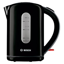 Buy Bosch TWK7603GB Village Collection Kettle, Black Online at johnlewis.com