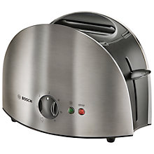 Buy Bosch TAT6901GB Town 2-Slice Toaster, Stainless Steel Online at johnlewis.com