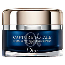 Buy Dior Capture Totale Intensive Night Restorative Cream, 60ml Online at johnlewis.com