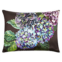 Buy Designers Guild Indivara Silk Cushion, Violet Online at johnlewis.com