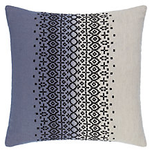 Buy John Lewis Catalina Cushion, Steel Online at johnlewis.com