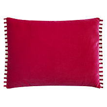 Buy Designers Guild Varese Cushion, Fuchsia Online at johnlewis.com