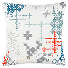 Buy John Lewis Future Fusion Tile Cushion Online at johnlewis.com