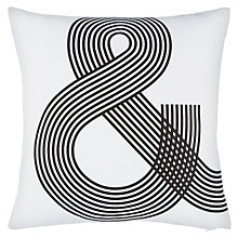 Buy John Lewis Ampersand Cushion Online at johnlewis.com