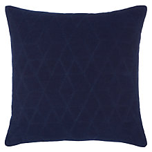Buy John Lewis Hex Quilted Cushion Online at johnlewis.com