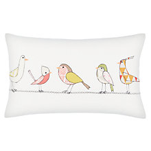 Buy John Lewis Tweet Birds Cushion Online at johnlewis.com