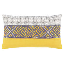Buy John Lewis Latin Melange Cushion, Saffron Online at johnlewis.com
