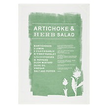 Buy John Lewis Croft Collection Recipe Tea Towel Online at johnlewis.com