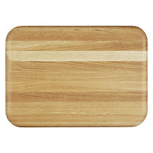 Buy John Lewis Rectangular Oak Chopping Board Online at johnlewis.com