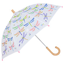 Buy Hatley Dragonfly Umbrella, Cream Online at johnlewis.com
