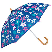 Buy Hatley Summer Garden Umbrella, Blue Online at johnlewis.com