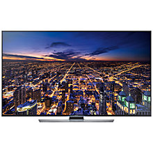 "Buy Samsung UE85HU7500 4K Ultra HD 3D Smart TV, 85"" with Freeview/Freesat HD and 2x 3D Glasses Online at johnlewis.com"