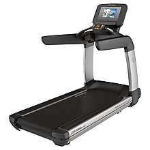 Buy Life Fitness Platinum Club Series Treadmill with Discover SI Tablet Console with FREE Exercise Bike Online at johnlewis.com