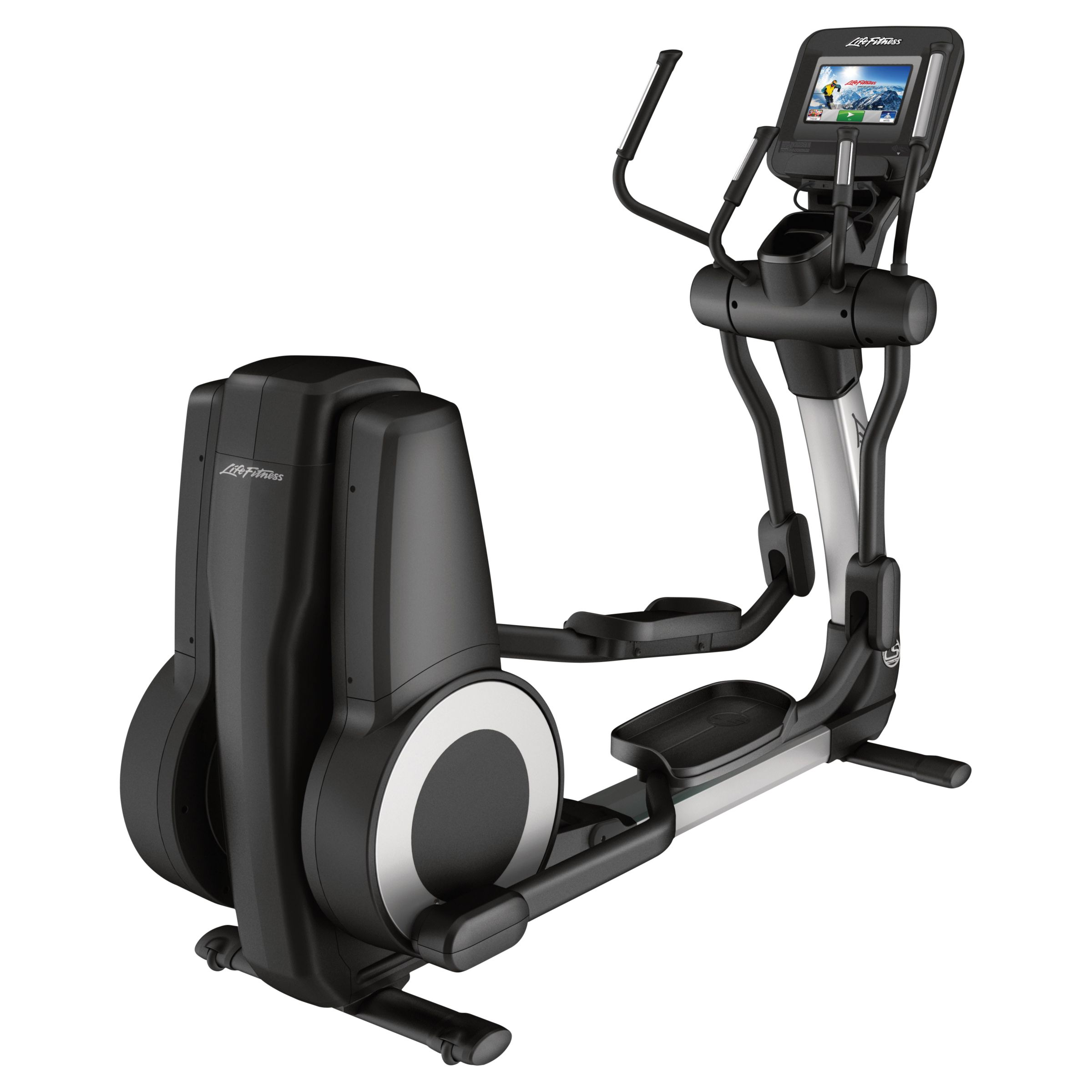 Life Fitness Life Fitness Platinum Club Series Elliptical Cross-Trainer with Discover SI Tablet Console