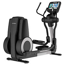 Buy Life Fitness Platinum Club Series Elliptical Cross-Trainer with Discover SE Tablet Console Online at johnlewis.com