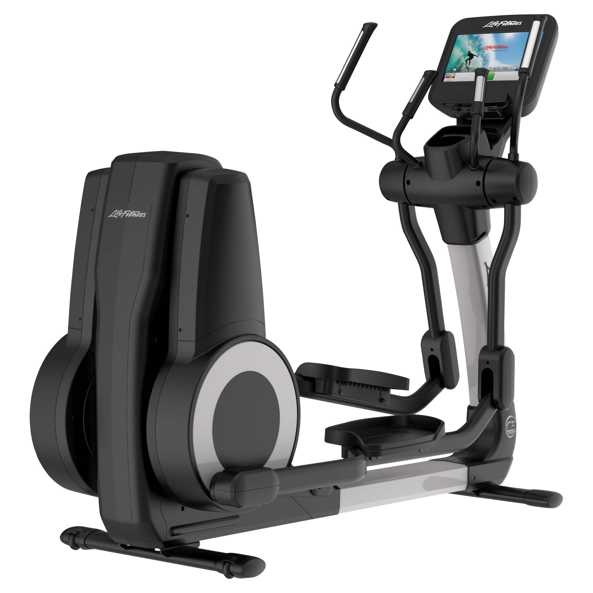 Life Fitness Life Fitness Platinum Club Series Elliptical Cross-Trainer with Discover SE Tablet Console