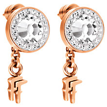 Buy Folli Follie Classy Flash Stud Earrings Online at johnlewis.com