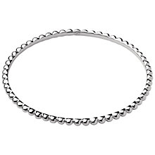 Buy Links of London Essentials Sterling Silver Bangle, Silver Online at johnlewis.com