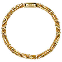 Buy Links of London Effervescence 18ct Gold Vermeil XS Star Bracelet Online at johnlewis.com